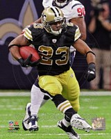 Pierre Thomas 2011 Action Fine-Art Print