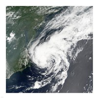 Tropical Storm Beryl formed in the Northwestern Atlantic on July 18, 2006 Fine-Art Print
