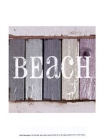 Beach Signs IV Fine-Art Print