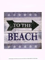 Beach Signs VII Fine-Art Print
