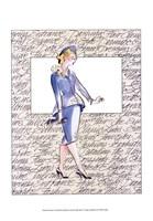 50's Fashion V Fine-Art Print