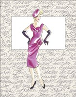 50's Fashion VI Fine-Art Print