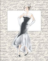 50's Fashion IX Fine-Art Print