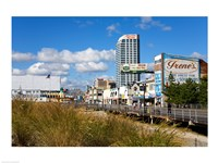 Boardwalk Stores, Atlantic City, New Jersey, USA Fine-Art Print