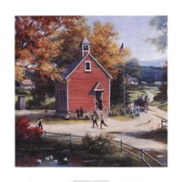 Country Schoolhouse Fine-Art Print
