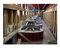 Hoover Dam's generators Fine-Art Print