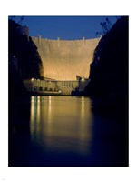 Hoover Dam at night Fine-Art Print