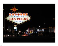 Welcome To Vegas sign Fine-Art Print