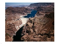 Above Hoover Dam near Boulder City, Nevada Fine-Art Print