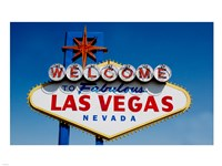 Sign in daytime, Las Vegas, Nevada Fine-Art Print