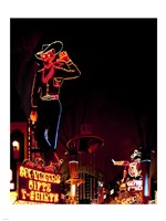 Vegas Vic on Freemont Street in Las Vegas Fine-Art Print