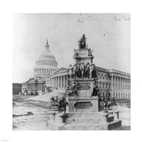 Lincoln Monument Fine-Art Print