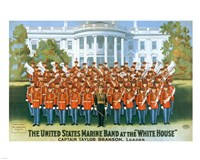 Marine Band at the White house Fine-Art Print