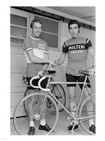 Joop Zoetemelk and Eddy Merckx 1973 Fine-Art Print