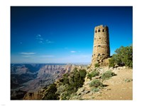 Arizon'a Grand Canyon Watch Tower Fine-Art Print