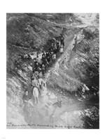 Col. Roosevelt's party descending Bright Angel Trail Fine-Art Print