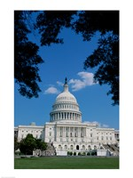 Facade of the Capitol Building, Washington, D.C., USA Fine-Art Print