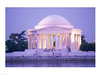 Jefferson Memorial at dusk, Washington, D.C., USA Fine-Art Print