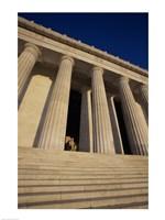 Facade of the Lincoln Memorial, Washington, D.C., USA Fine-Art Print
