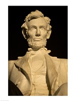 Close-up of the Lincoln Memorial, Washington, D.C., USA Fine-Art Print