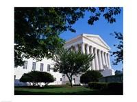 Exterior of the U.S. Supreme Court, Washington, D.C., USA Fine-Art Print