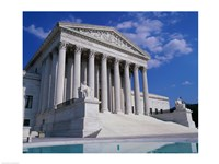 Facade of the U.S. Supreme Court, Washington, D.C., USA Fine-Art Print
