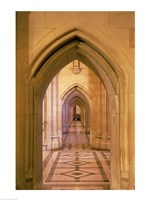 Arched doorways at the National Cathedral, Washington D.C., USA Fine-Art Print