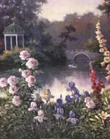 Summer Garden Triptych 1 Fine-Art Print