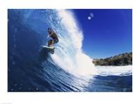 Surfing - Action shot Fine-Art Print