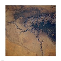 Grand Canyon from space Fine-Art Print