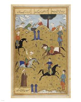 Polo game from poem Guy Chawgan Fine-Art Print