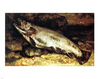 Gustave Courbet - The Trout Fine-Art Print