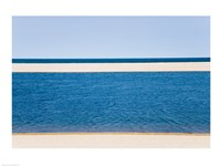 Panoramic view of the sea, Cape Cod, Massachusetts, USA Fine-Art Print