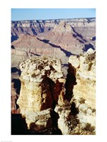 Moran Point Stacks Grand Canyon National Park Arizona USA Fine-Art Print