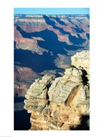 Rock Close-Up at the Grand Canyon Fine-Art Print