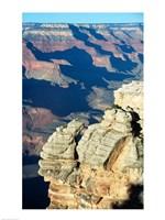 Rock Close-Up at the Grand Canyon Fine-Art Print