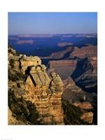 High angle view of rock formations, Grand Canyon National Park, Arizona, USA Fine-Art Print