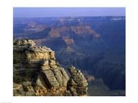 High angle view of rock formation, Grand Canyon National Park, Arizona, USA Fine-Art Print