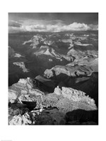 Grand Canyon with Clouds Fine-Art Print