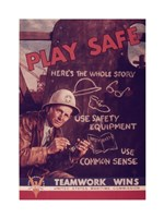 Play Safe Fine-Art Print