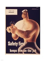 Safety First Fine-Art Print