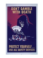 Don't Gamble With Death Fine-Art Print