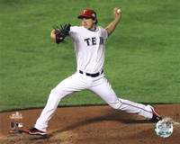 Derek Holland Game 4 of the 2011 MLB World Series Action (#16) Fine-Art Print