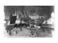 Edison's phonograph, Experimental Dept., Orange, N.J. Fine-Art Print