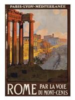 Rome Vintage Travel Fine-Art Print