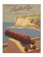 Discover Puerto Rico U.S.A. Fine-Art Print