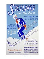 Skiing in the East The best trails and how to get there Fine-Art Print