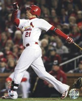 Allen Craig Home Run Game 7 of the 2011 MLB World Series Action (#36) Fine-Art Print