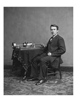 Edison and phonograph Fine-Art Print