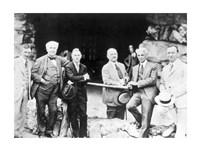 Firestone Edison Ford and Fred Seely Grove Park Inn Asheville 1918 Fine-Art Print